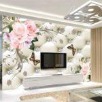 Thợ giấy dán tường tại Hoàn kiếm, Giá 1m2 tranh dán tường 3D trọn gói giá rẻ