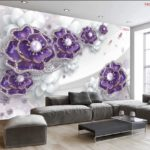 Tranh dán tường 3d giá bao nhiêu 1m2 tại hà nội cho phòng khách, phòng ngủ, thiên nhiên