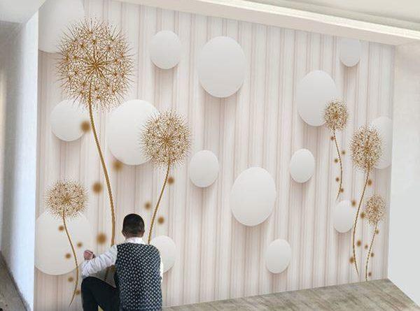 Giấy dán tường bao nhiêu tiền một mét vuông ? Trọn gói hoàn thiện gồm tiền công và vật tư giấy dán tường