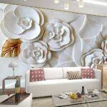 Giá Giấy dán tường giá rẻ tại hà nội Cho Phòng Ngủ Phòng Khách Hãng Đài Loan, Hàn Quốc